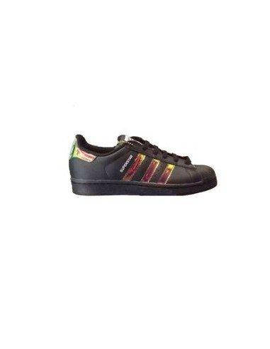 adidas Basket Superstar S75942 Age Adolescent, Couleur Noir