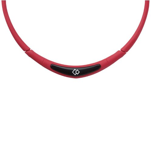 Trion:Z Colantotte Flex Neck Magnetic Necklace (Red, Medium)