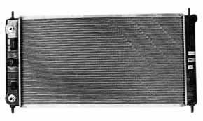 2008 Chevrolet Malibu Radiator - TYC 2864 Pontiac G6 1-Row Plastic Aluminum Replacement Radiator