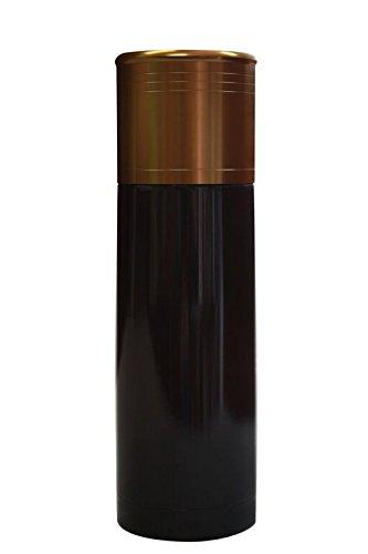 Aquatix 12 Gauge BuckShot Shotgun Shell Shaped Bullet Double Wall Insulated Sport thermos Bottle 25 Ounce - Black (Shotgun Real Shells)