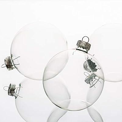 "Richland Glass Ornaments 3"" Christmas"
