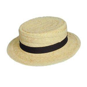 bd300d421075c Sombrero Canotier de paja barato  Amazon.es  Ropa y accesorios