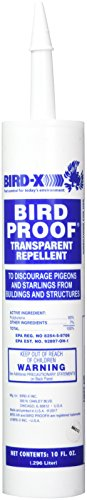 Bird repelling gel for pigeons