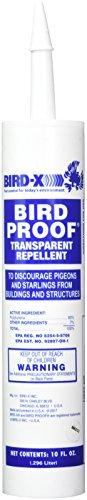 Bird-X 54-1 Proof Bird Repellent Gel-10 oz, ()