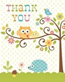 Creative Converting 890128 Happi Tree - Thank You - Case of 48