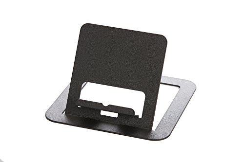 Weathered Copper Angle - RMP Black Universal Tablet Stand for iPad/iPad 2, Galaxy Tab, Surface, Nook, Nexus and Other Tablets