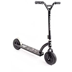 Best Scooter for your Kids, Pulse Performance ZR1 Freestyle Dirt Scooter, Oversized Steel 4-Piece Handlebars with 3-Bolt Clamp