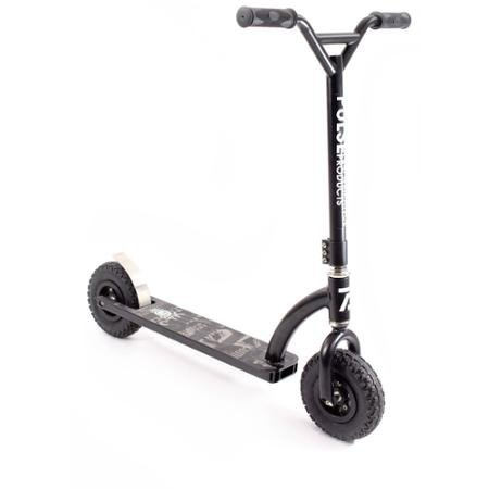 Best Scooter for your Kids, Pulse Performance ZR1 Freestyle Dirt Scooter, Oversized Steel 4-Piece Handlebars with 3-Bolt Clamp by Generic.