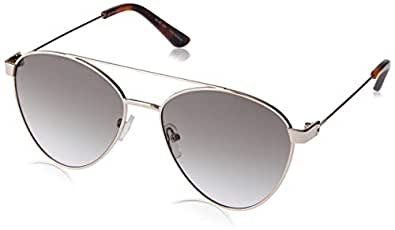 Sass & Bide Women's Blue Jay SAS1809848 Aviator Sunglasses,Gold/Honey Demi,57 mm