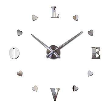 Shopantic(TM) new wall clock reloj de pared quartz watch europe horloge home living