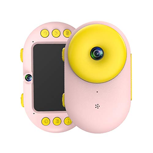 MChoice❤️Digital Camera for Kids 8MP 1080P HD Dual Cameras Waterproof Mini SLR Diving Camera (Pink) ()