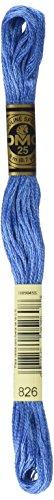 DMC 6-Strand Embroidery Cotton Floss, Medium Blue
