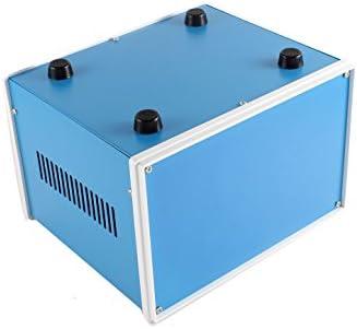 uxcell ジャンクションボックス 密閉型ケース メタル ブルー 200x180x135mm