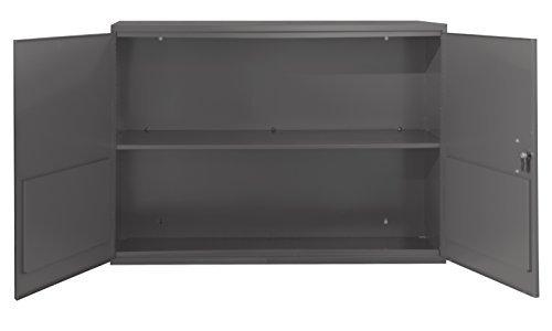 Durham 060-95-WFS Fixed Flat Shelf Aerosol Cabinet Gray [並行輸入品] B07B7CXNHS