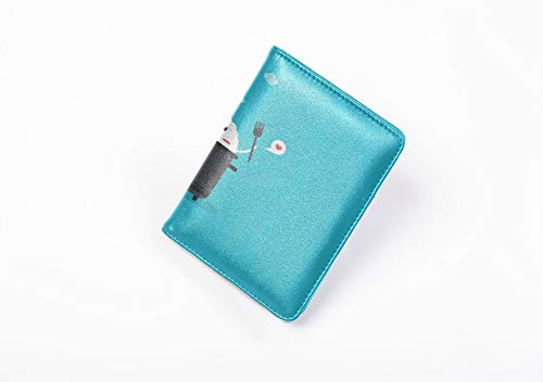 Passport Holders Cute Rice Cooker White Rice Cooked Blocking Microfiber Leather Passport Covers For Kids