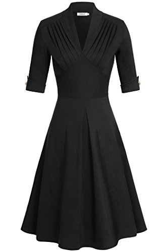 juniors black dress for funeral - 9