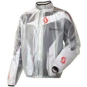 Scott Rain MX Motorrad / Fahrrad Regenjacke klar 2015: Größe: M (46/48)