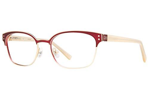 Ted Baker B237 Womens Eyeglass Frames - Gold by Ted Baker