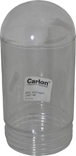 Clear Lense Thomas /& Betts Clear Dust and Moisture Resistant 6 Pack cULus File E183934 Glass Fixture Globe Corrosion Dirt
