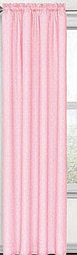 Kids Pink Polka Dot Energy Smart Thermal Back Curtain Panel 42inches Wide X 84inches L (Eclipse Dot Polka)