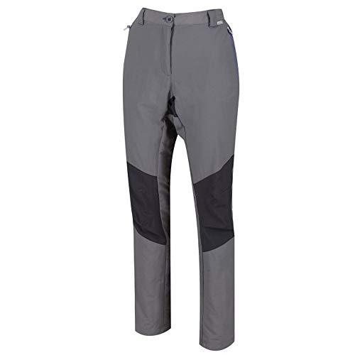 Regatta Womens/Ladies Sungari II Lightweight Stretch Walking Pants (4 US) (Rock Gray/Seal Gray)