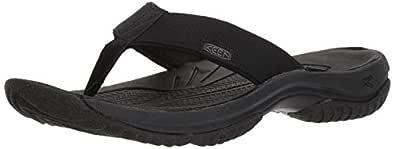 KEEN Mens Kona Flip-m Black Size: 7