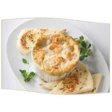 King and Prince Shrimp and Crab in Parmesan Dip, 2.5 Pound - 4 per ()