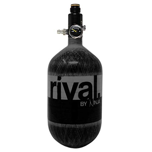 Ninja Rival Paintball Compressed HPA Air Tank (Black)