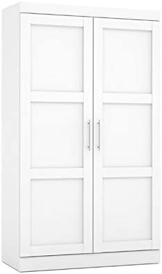 Atlin Designs Pullout Armoire in White