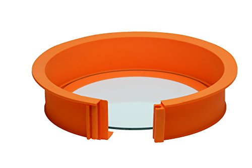 Pavoni EASYCAKE Platinum Silicone Easy Cake Form, Orange (Best Cheesecake In Philly)