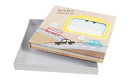 Babies Bloom Baby Sunshine Vehicles 1st Year Memory Book, Multi Color Home & Décor at amazon