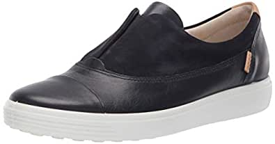 ECCO Women's Women's Soft 7 Slip-on Sneaker, Night Sky, 35 M EU (4-4.5 US)