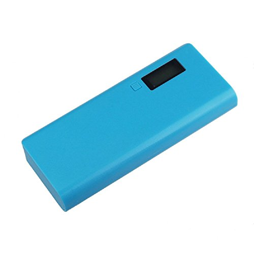 Damark 5V 2A USB 18650 Power Bank Battery Box Charger For iphone6 Note4 (Blue)