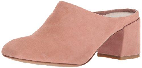 Kenneth Cole New York Womens Edith Slip Low Block Heel Mule Blush