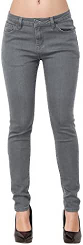 Skinny Jeans, ZLZ Women's Casual Butt Lift Stretch Jeans Leggings