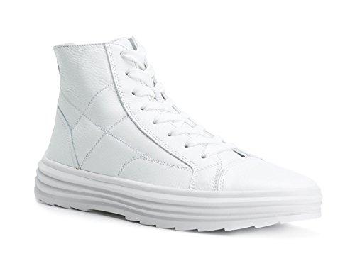 Hogan Herre Hxm3410j180du50001 Weiss Leder Hi Top Sneakers JEjgVIh