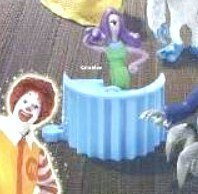 McDonalds Happy Meal Monsters Inc. Celia Mae Toy #6 2001 by McDonald's