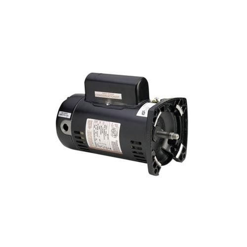 2 Flange Speed Square Motor - A.O. Smith SQS1102R 1x1/6HP Square Flange Two Speed Motor