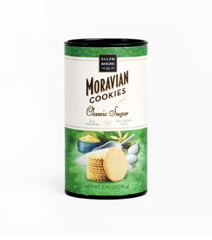 Moravian Sugar Cookies - 24, 2.5oz by Salem Baking Co.