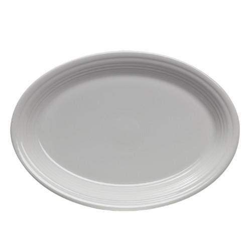 Fiesta 9-5/8-Inch Oval Platter, White (Fiesta Oval Serving Platter)
