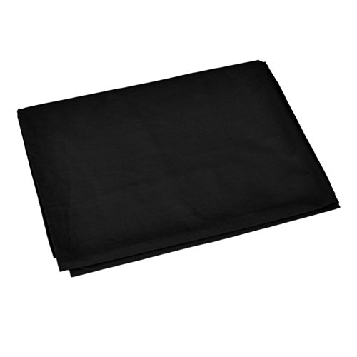 Neewer 10 x 20FT / 3 x 6M PRO Photo Studio 100% Pure Muslin Collapsible Backdrop Background for Photography,Video and Televison (Background ONLY) - BLACK (Muslin Pro)