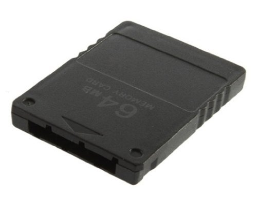 Playstation 2 PS2 Black Memory Card - 64mb 64 mb .  by PS...