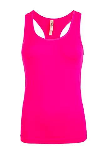 Women's Activewear Workout Yoga Racerback Tank Top (Free, Hot ()