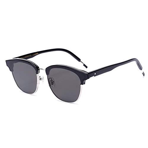 gray color Black 100 En Frame Lens Men's Polarized Métal Uv400 Lunettes Cvthfyky Lens Cadre De Soleil Aluminium Femmes Pour wTSWAq