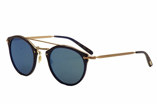 Oliver Peoples Eyewear Women's Remick Sunglasses, Denim Rose Gold/Blue, One - Oliver Peoples Remick