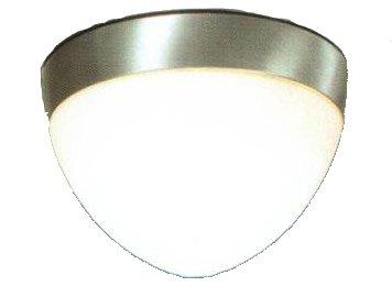 Modern Fan 651-BA, 18W GU24 Energy Saving CFL; Aluminum Light Kit (Ball/Ball Hugger/Stratos - Hugger Ball