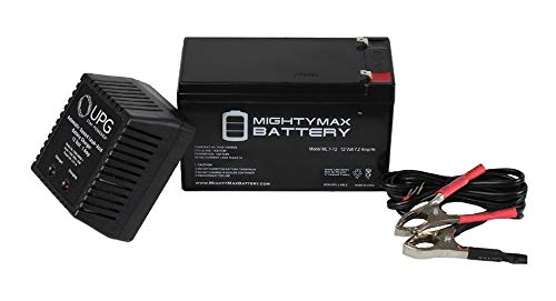 Mighty Max Battery 12V 7.2AH Battery Replaces 2008 Lotus Exige S 240 + 12V 1Amp Charger brand ()