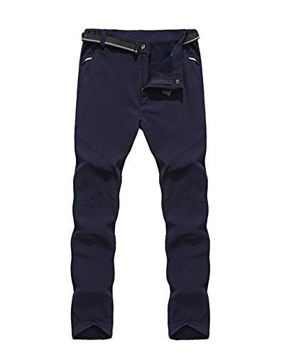 Slim Fit Softshell donne Funzionali Blu Invernali Marino Campeggio Per Escursionismo Impermeabili E Traspiranti Uomo Da Donne Sport Gladiolusa Pantaloni Outdoor A8qY0x