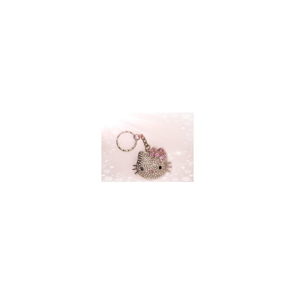 High Quality 4gb Hello Kitty Crystal Jewelry USB Flash Memory Drive keychain