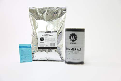 (Premium Summer Ale No Boil Complete Beer Kit, Makes 5-6 gallons)